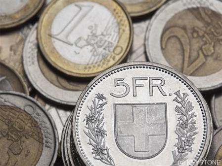 euro franken devisen